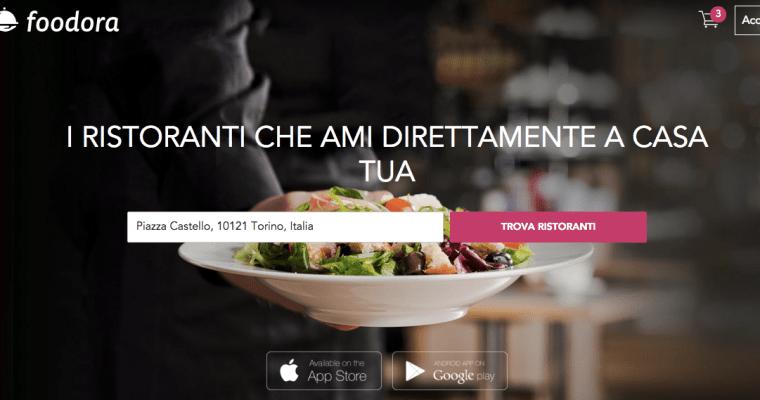 イタリアでレストランからデリバリーできる美味しくて便利なサービス「foodora」