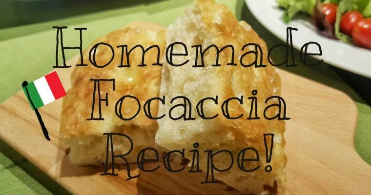 イタリア人の奥さま直伝♪ふわふわのフォカッチャレシピ