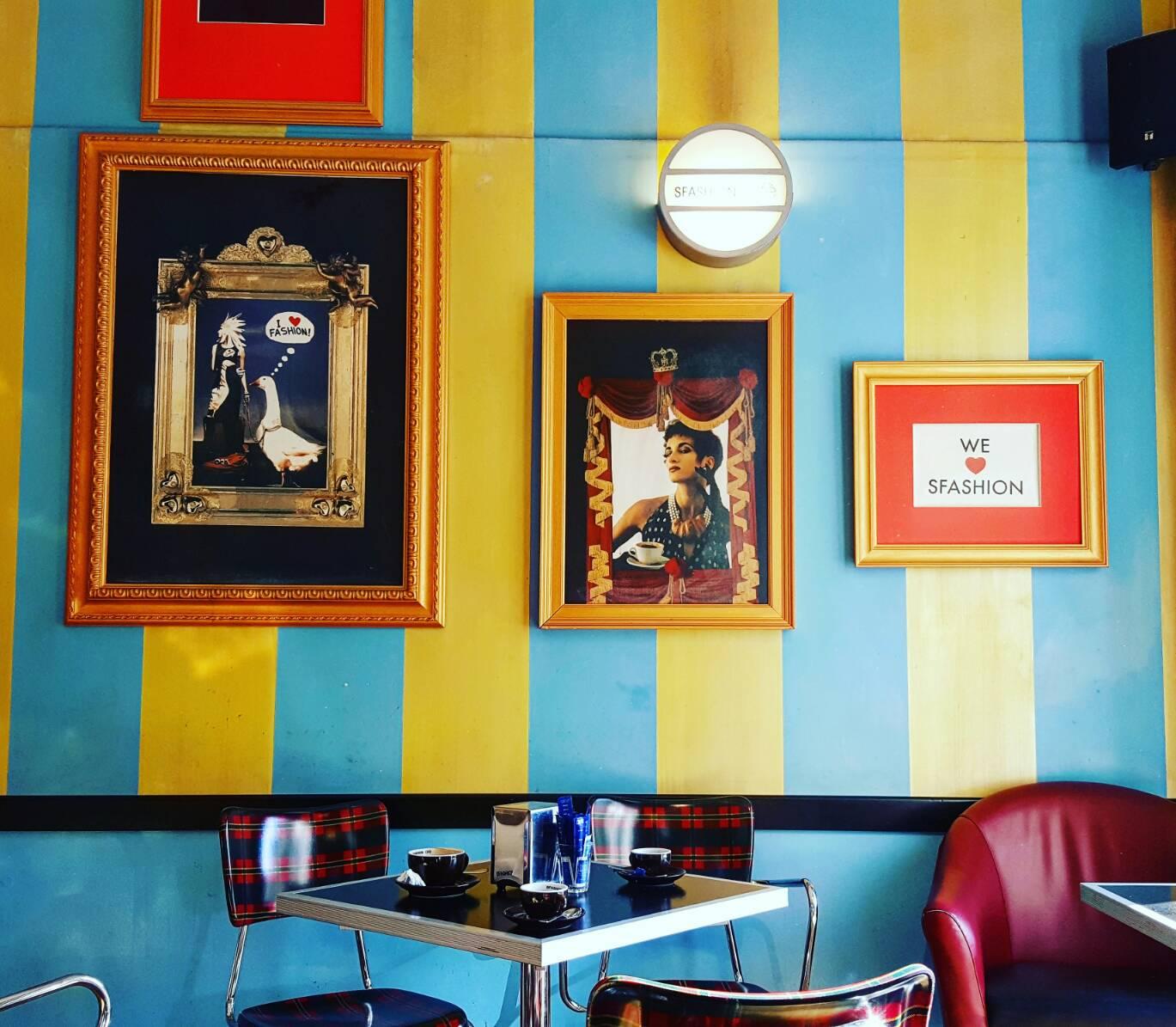 トリノのお洒落でレトロなレストラン |SFASHION CAFÈ