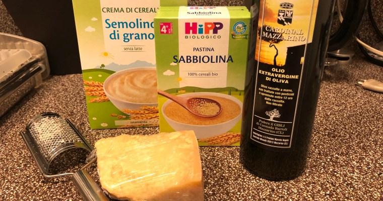イタリア子育てコラム ①イタリアの離乳食事情 赤ちゃんが最初に食べるのは?
