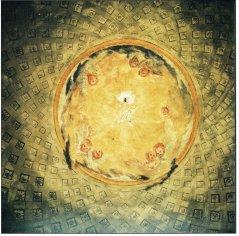 Soffitto affrescato cripta