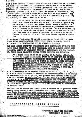 3 - Federazione giovanile comunista
