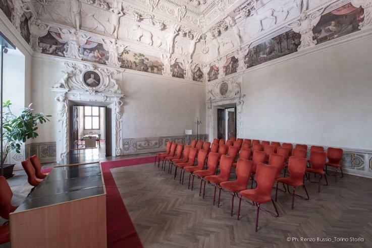Torino, Interni del Castello del Valentino-5410