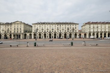 Portici di piazza Vittorio Veneto
