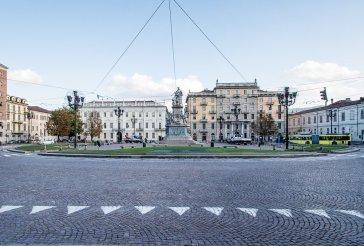 È il 1670. Si comincia a progettare l'ampliamento di Torino verso Po. L'architetto di corte Amedeo di Castellamonte disegna una Schenografia della città e cittadella di Turino, cioè una mappa complessiva della città come la si vorrebbe.