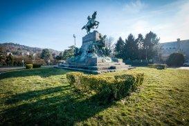 Il monumento ad Amedeo Duca di Aosta al Valentino