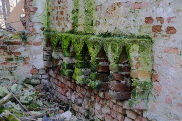 Castello della Rotta, particolare