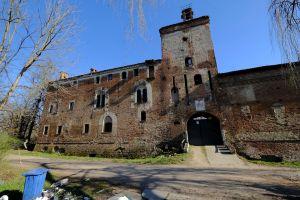 Castello della Rotta, facciata