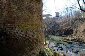 Castello della Rotta - resti del ponte