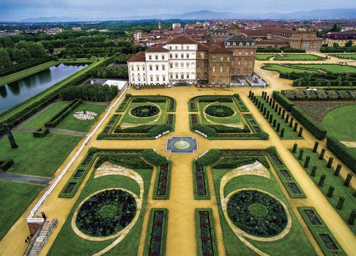 Giardini Venaria - vista aerea