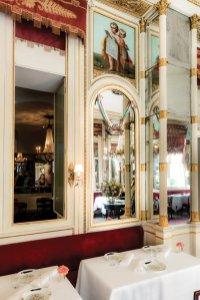 Il tavolo di Cavour al ristorante Del Cambio