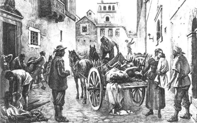 La peste di Torino del 1598