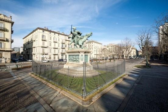 Piazza Solferino Torino