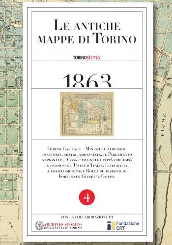 La mappa di Torino Capitale del 1863