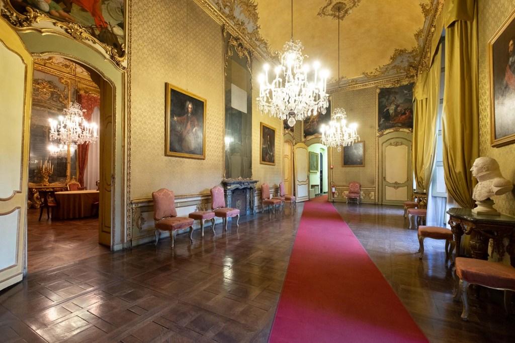 Palazzo Chiablese, un interno