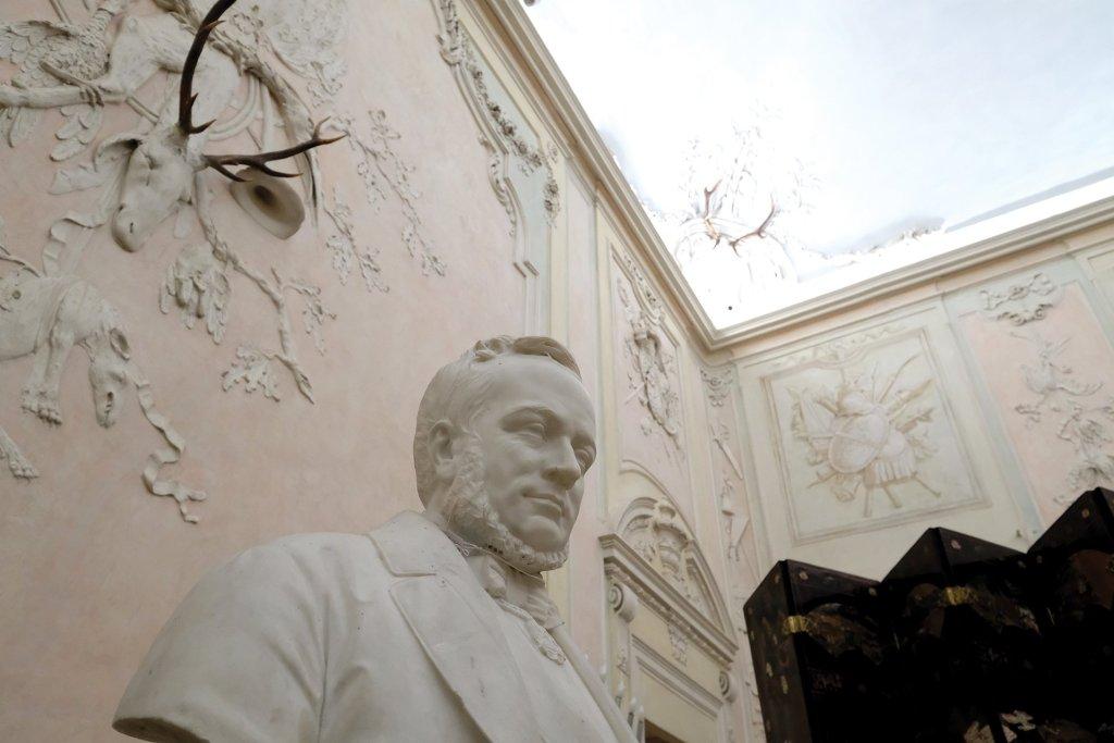 Memoriale Cavour, Sala delle cacce