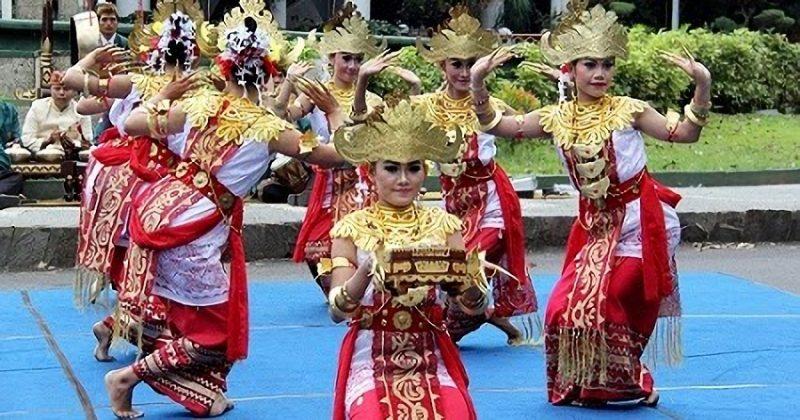 Tarian tradisional Lampung, Tari Sigeh Pengunten