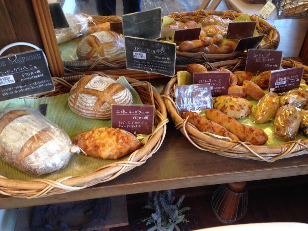 キッチンおかだパンタグラフ(松江):日向ぼっこしながらこだわりのパン