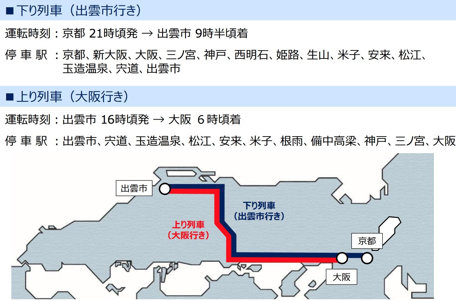 9月に運行スタート新型特急west express 銀河|2020年から京都・大阪-島根間に新たなアクセス誕生!