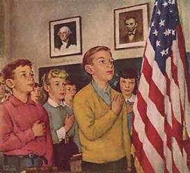 exempt kids from pledging allegiance