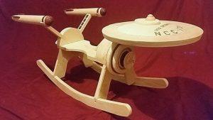 wooden star trek uss enterprise