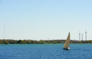 フォートヘンリーから望むオンタリオ湖