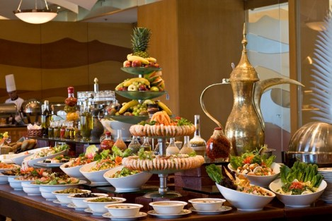 "Restaurant ""Le BelvŽdre"" - buffet dejeuner"