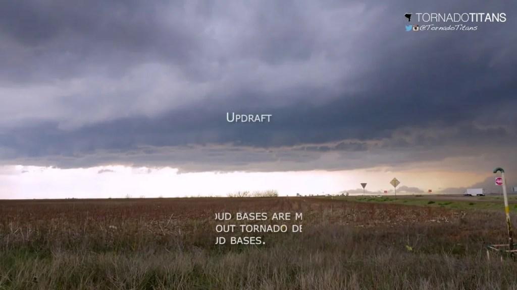 What are landspouts?