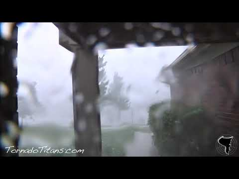 June 14, 2011 Storm Chase | Insane Damaging Microburst in Norman, OK!