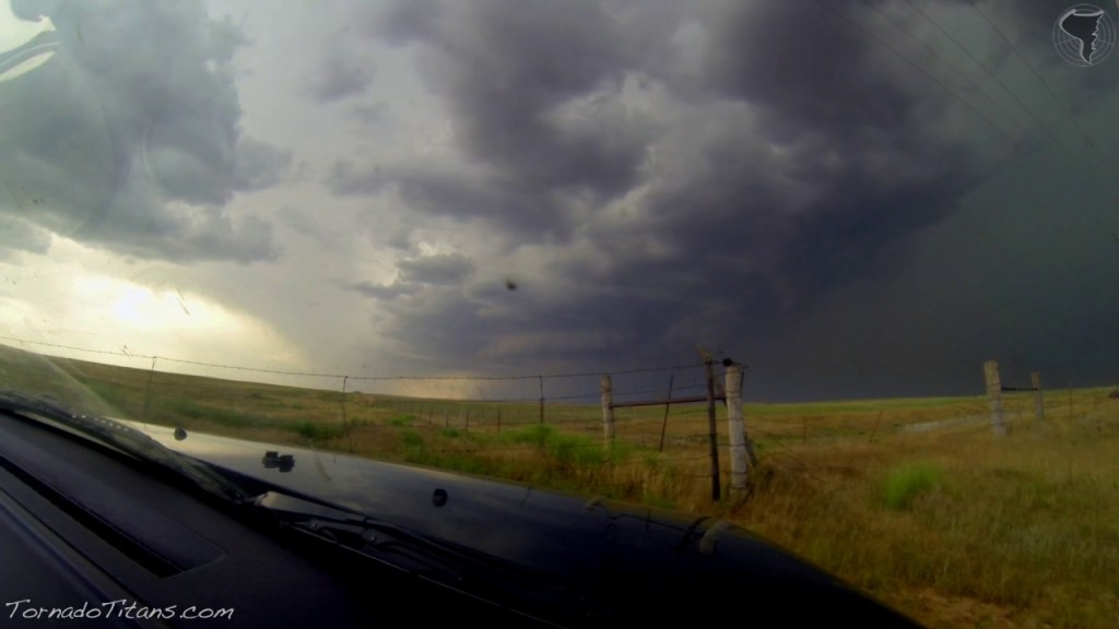 May 28, 2013 Storm Chase | The Birth of a Supercell in NW OK