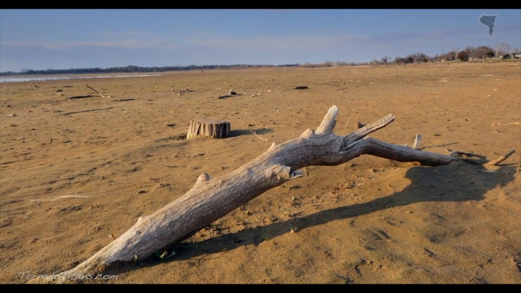 March 18, 2015 Storm Chase | Lake Overholser Drought Conditions
