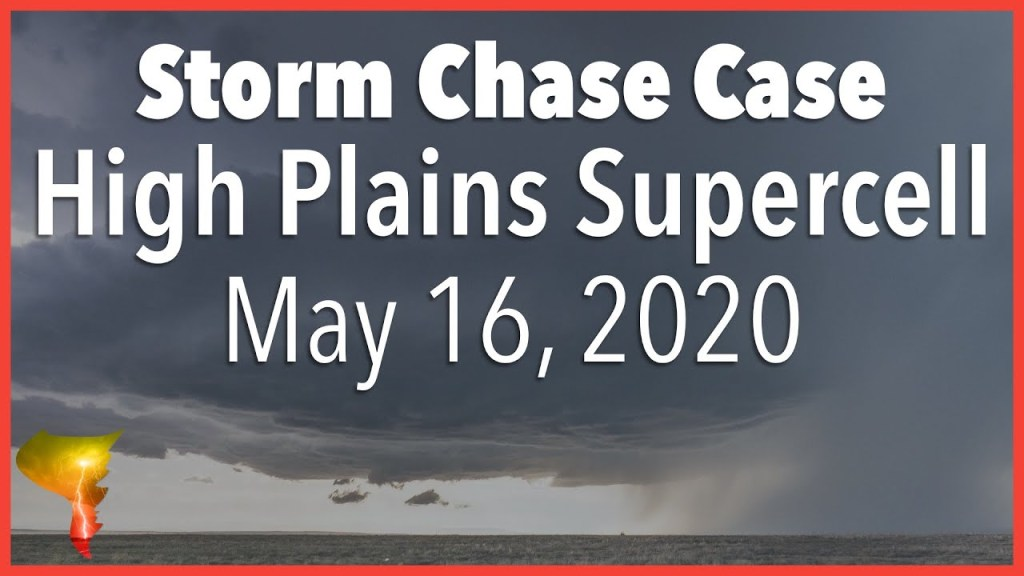 Storm Chase Case: Why You Should Always Chase the High Plains