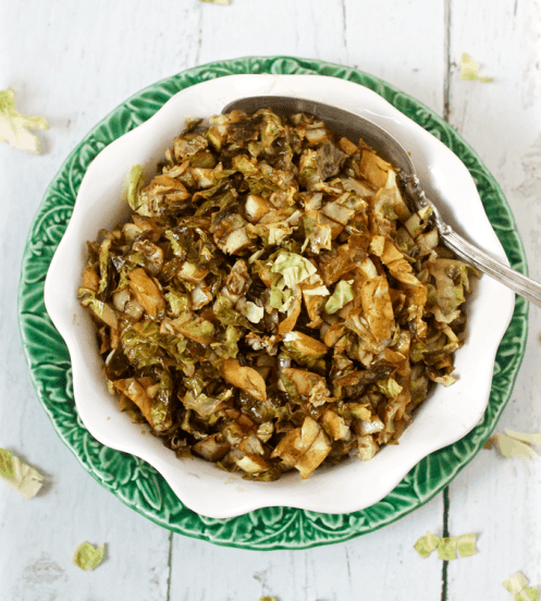 Balsamic-shredded-Brussels-sprouts
