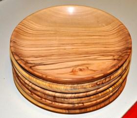 1410 piatti piani in ulivo