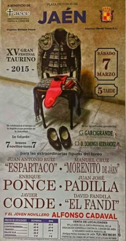 Jaen. Festival cancer 2015