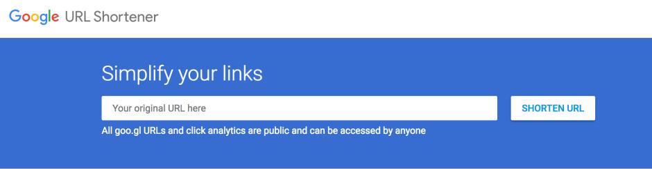 Google cierra su servicio para acortar URL's