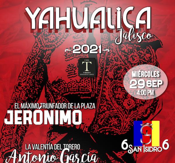 Jerónimo, Chihuahua y Armillita IV en Yahualica