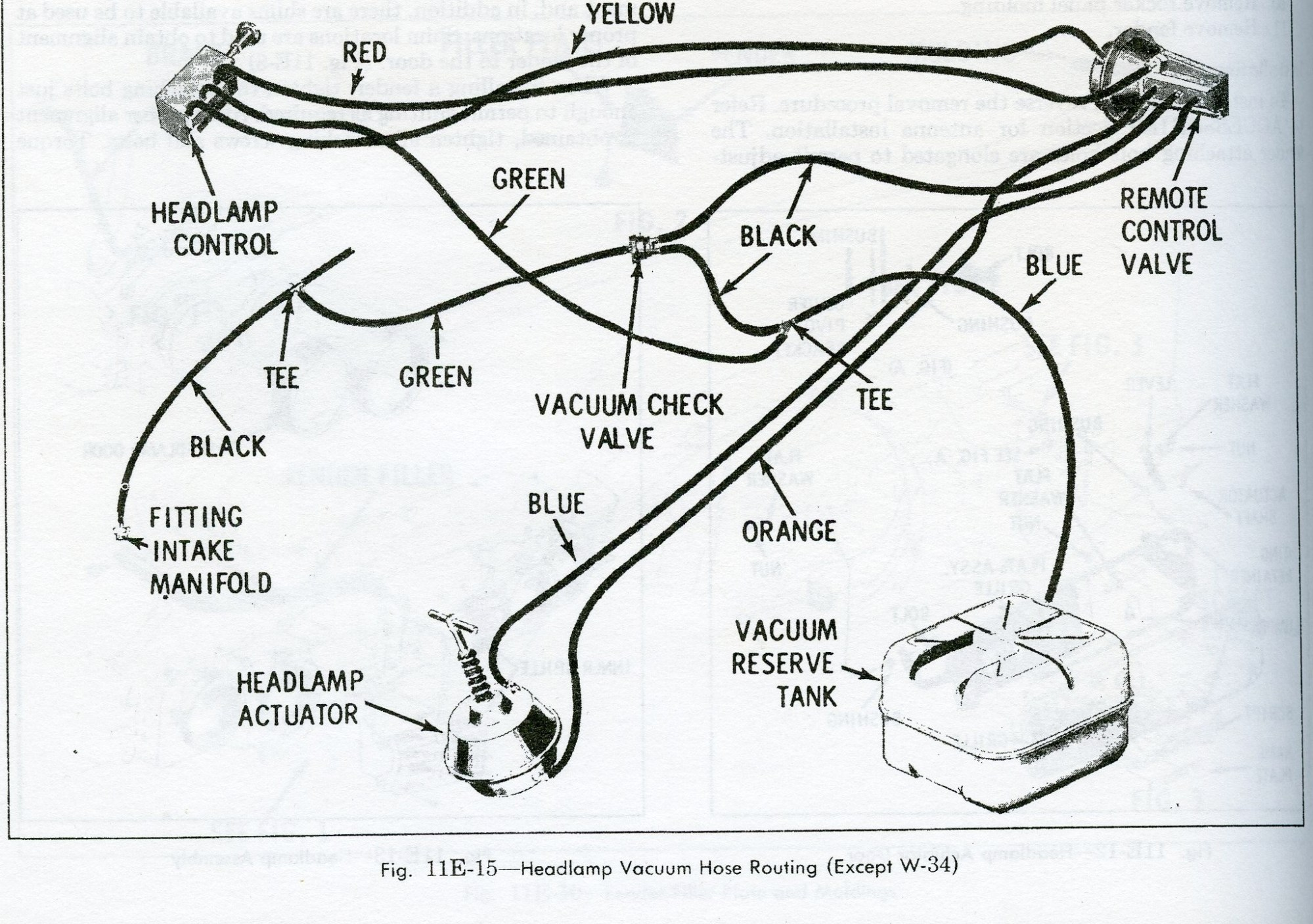 hight resolution of headlight hose diagram
