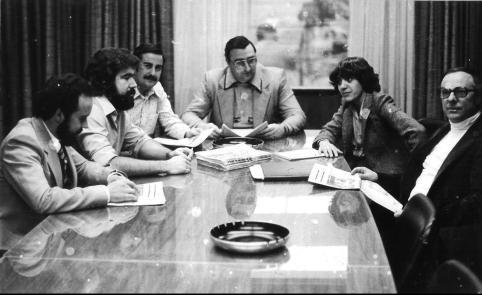 #37 1-2 1979 01 31 Comunidade - Fernada Gaspar of Comunidade meeting with Local 183