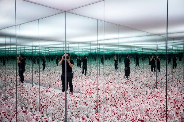 Infinity Mirrors Art Exhibit