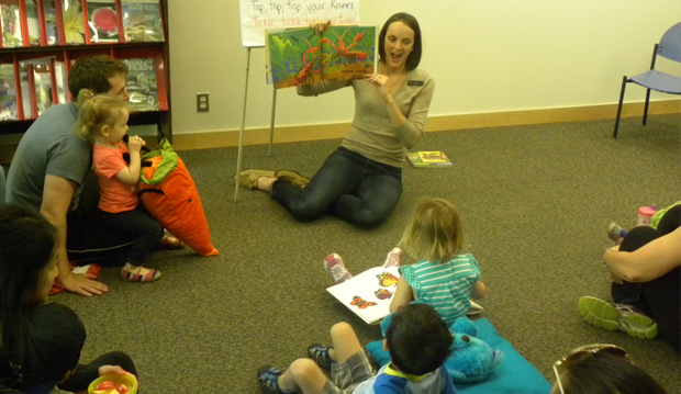 Free Drop in Storytime