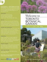 TBG Visitors Guide and Map
