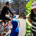blender bike and big veggie girl