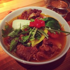 Sample Size Braised Beef Noodle at One Hour Cafeteria