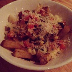 Lobster Poutine at the 8th Deadly Sin