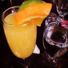 Mimosa at the 8th Deadly Sin Brunch Tasting