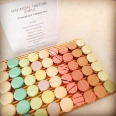 Macaron Tasting