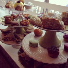 Tea Sandwiches, Petit Fours, Scones, and more...