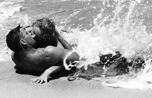 Image result for From Here to Eternity 1953 kissing