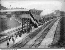 Vintage Train Toronto
